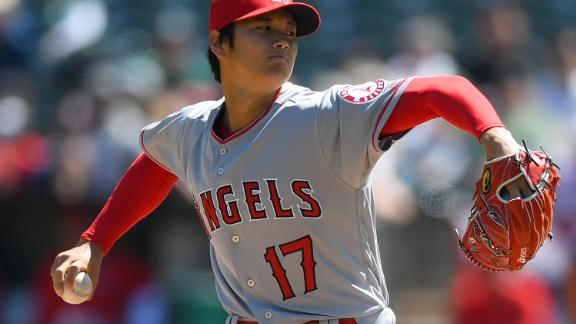 Los Angeles Angels' Shohei Ohtani has been dubbed the Japanese Babe Ruth