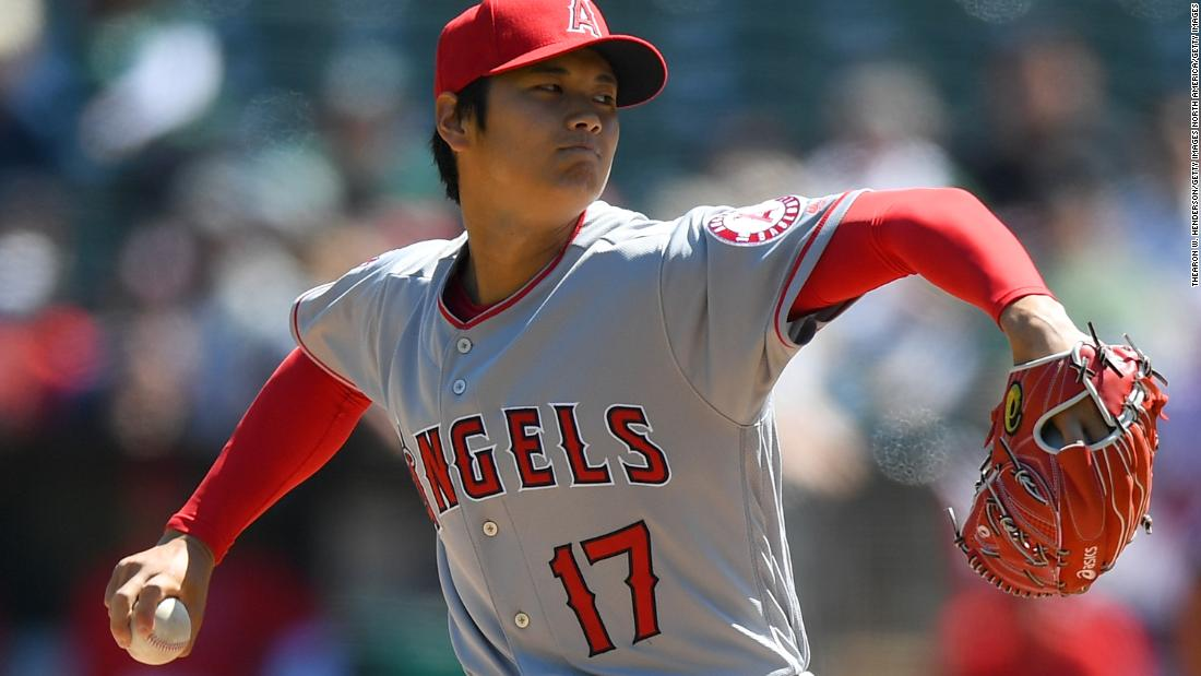 An MLB player known as the 'Japanese Babe Ruth' made baseball history last night