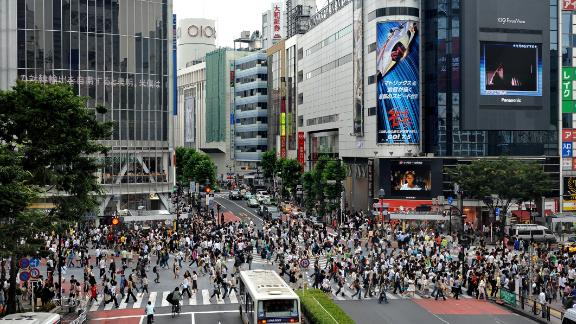 It goes without saying that Japan's capital is one of the busiest cities in the world. The famous scramble crossing -- the Shibuya intersection -- is at the heart of one of Tokyo's most colorful districts.