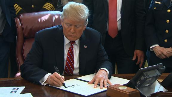 Trump signs veto