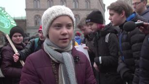 Greta Thunberg inspires global climate protests