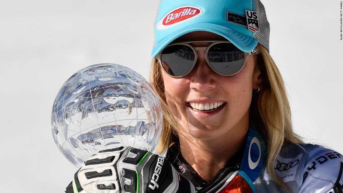 ผลการค้นหารูปภาพสำหรับ Mikaela Shiffrin seals stellar season with 60th career win