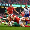 Wales Hadleigh Parkes Six Nations Ireland