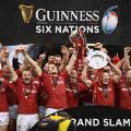 Wales Six Nations celebrations Cardiff