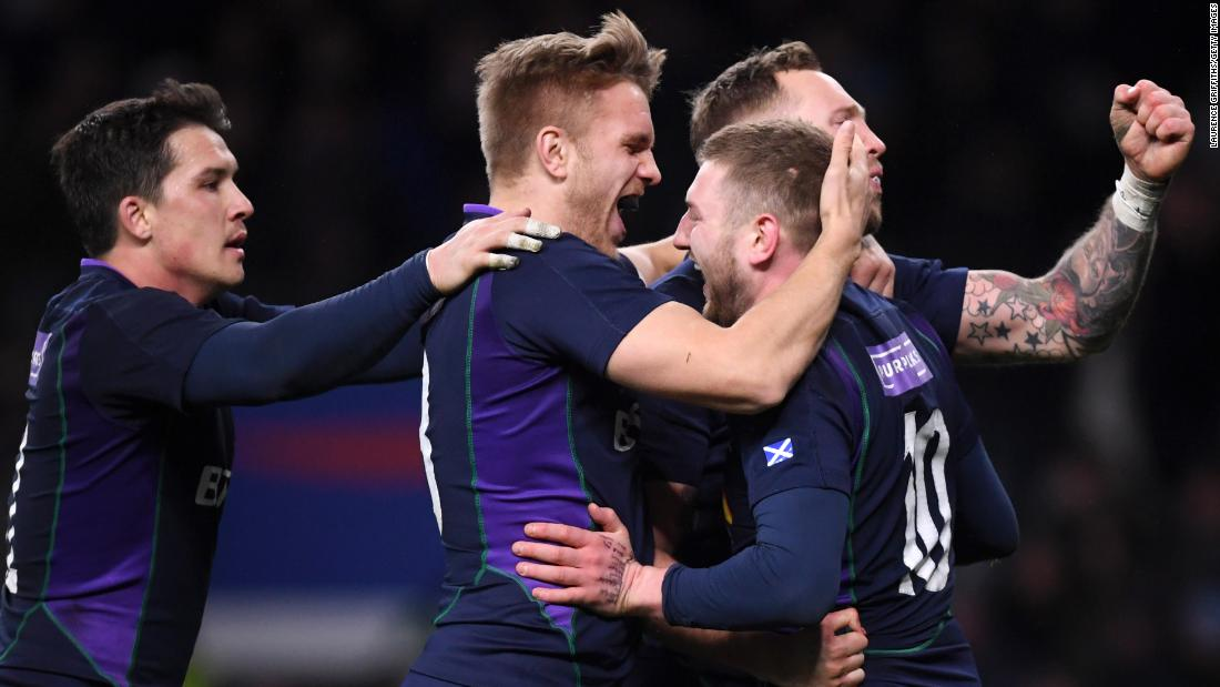 Scotland scored six unanswered tries as England fell apart. The Scots were of the verge of the biggest comeback in the tournament's history.