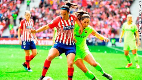 Atletico Madrid V Barcelona World Record Crowd For Women s Club Match CNN