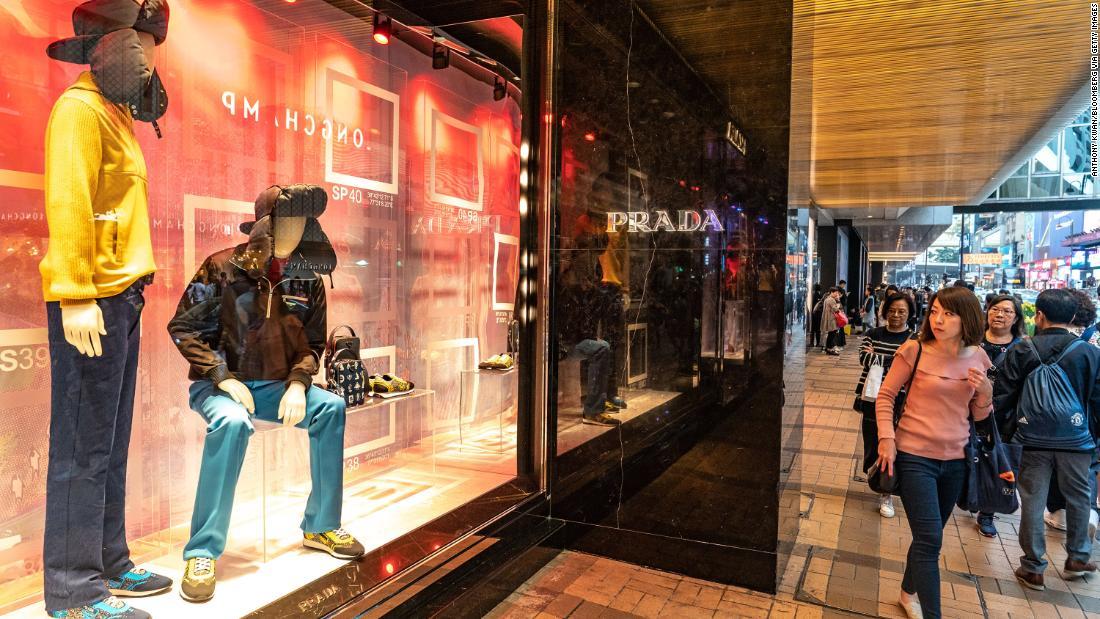 Prada is the latest victim of China's slowdown