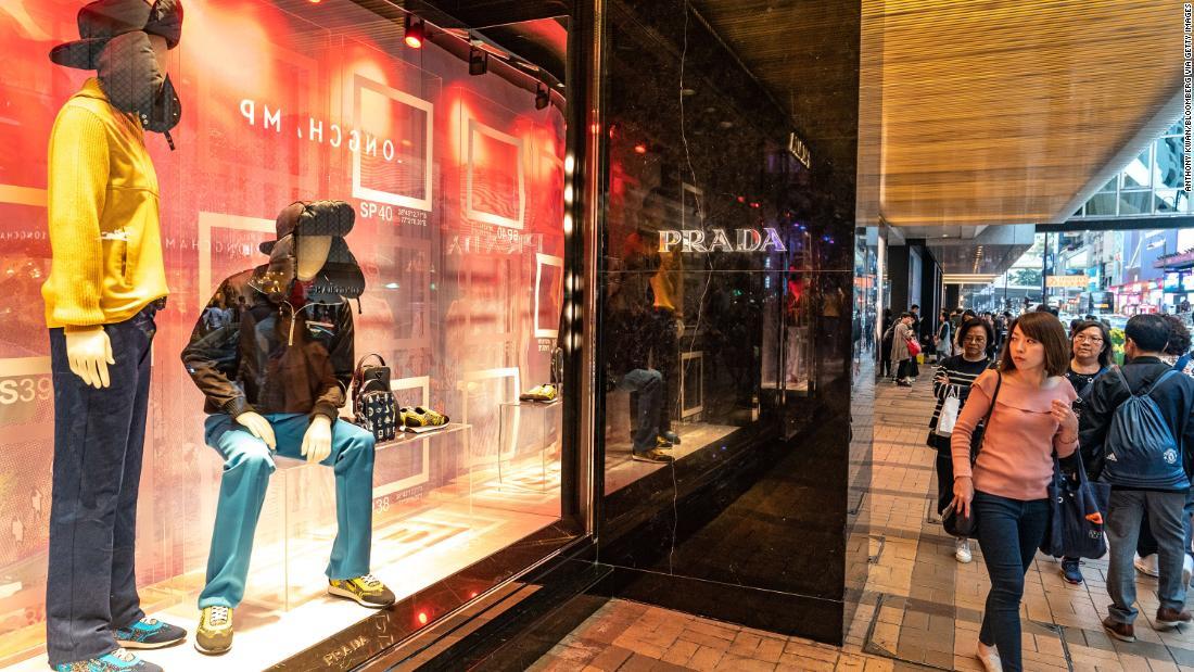 bd159ebecb9 Prada stock price drops 11% as it points to slowdown in China - CNN
