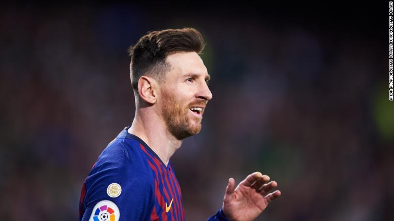 Leo Messi Breaks Another Record In Barca Win Juventus Ends Inter S Unbeaten Run Cnn