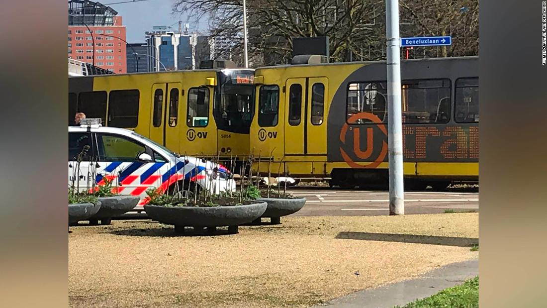 Utrecht tram shooting: Manhunt after multiple people hurt in Dutch incident