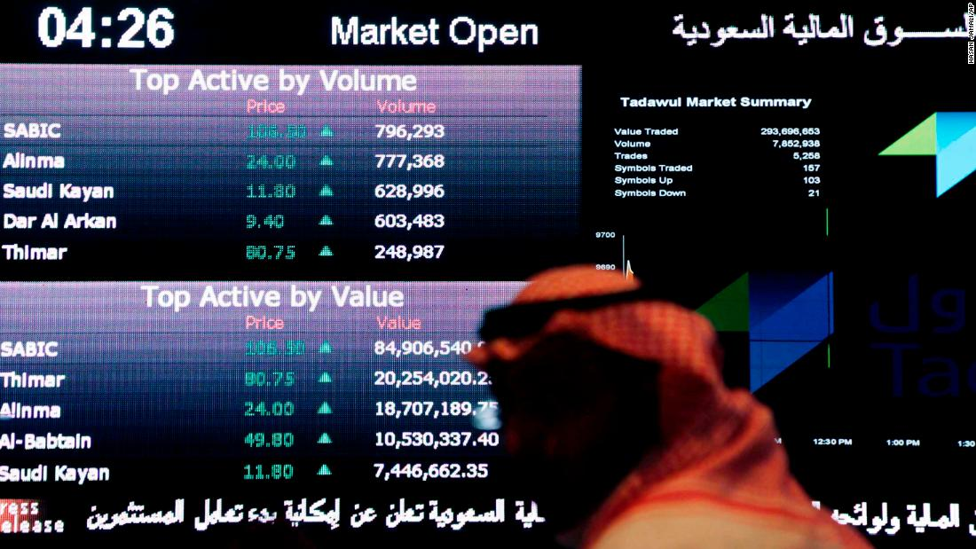 Saudi Arabia joins emerging market indexes, giving it access to billions of dollars