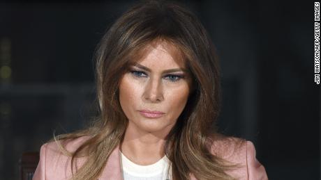 Melania Trump tweets concerns over e-cigarettes