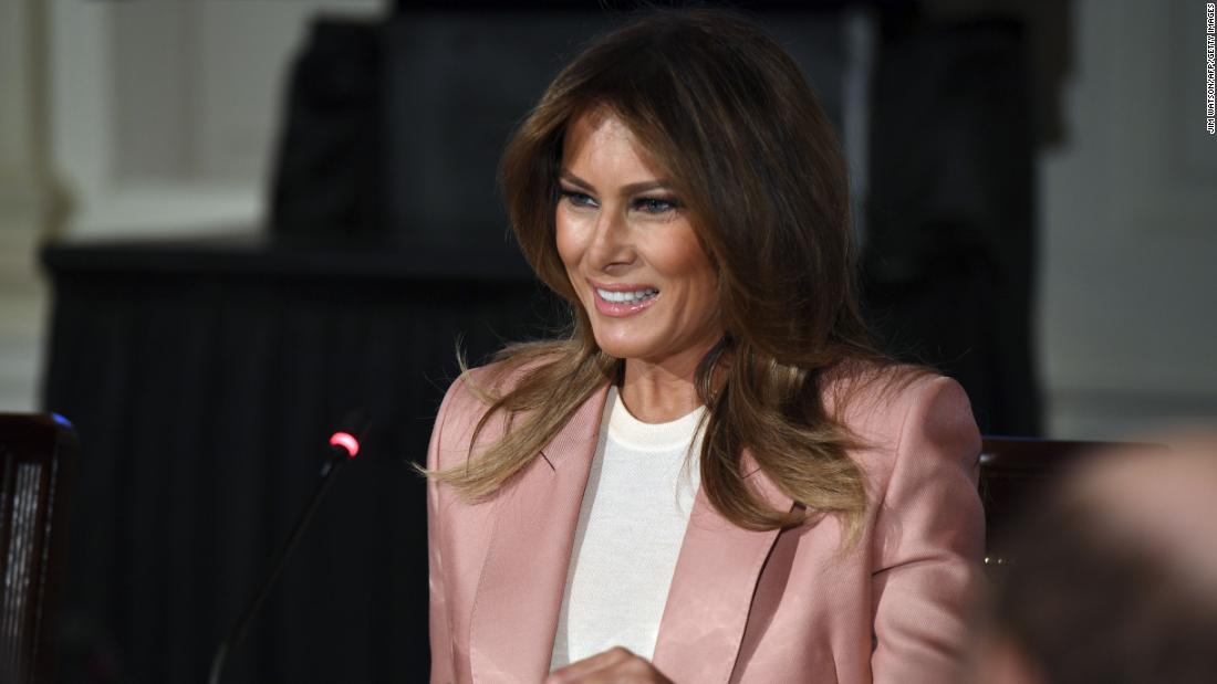 Melania wasn't born in the US. Why her silence matters