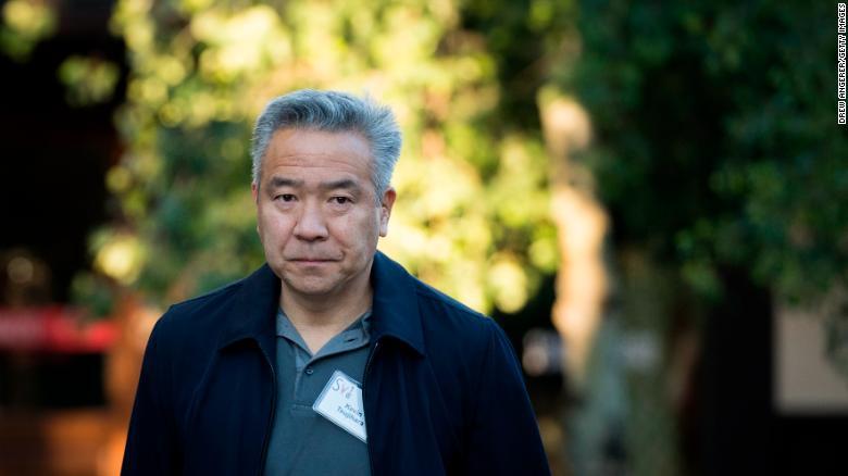 Warner Brother's former CEO Kevin Tsujihara.