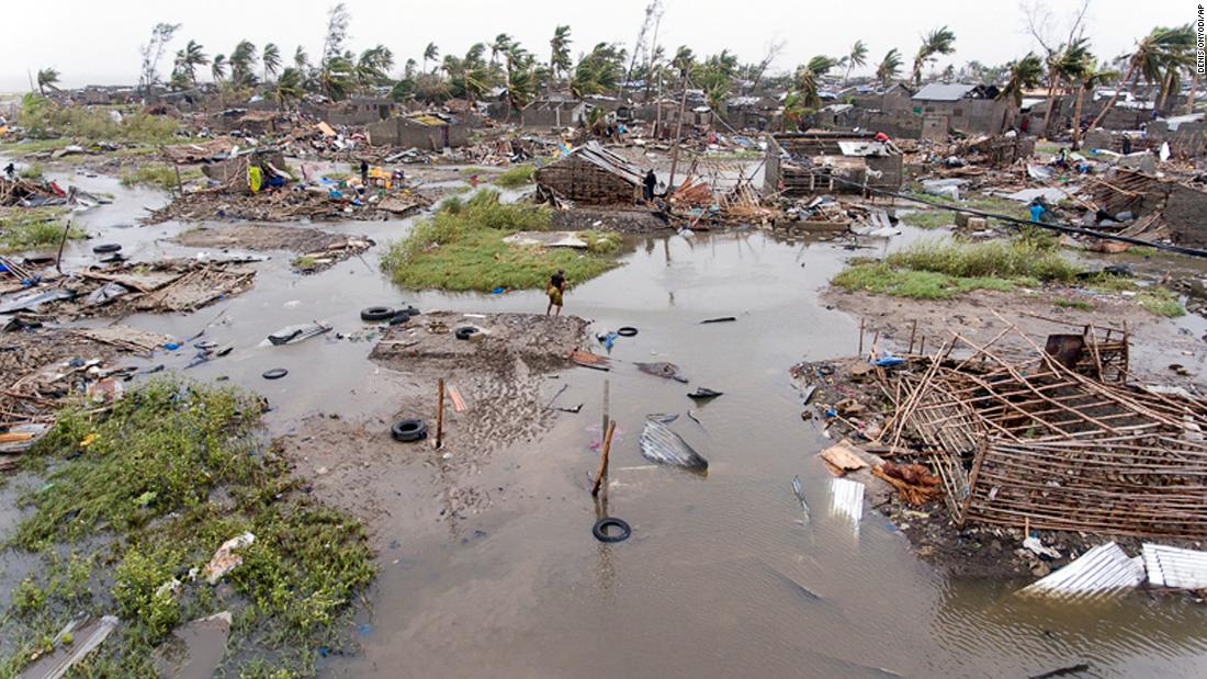 City of 500,000 nearly wiped out by cyclone, aid officials say