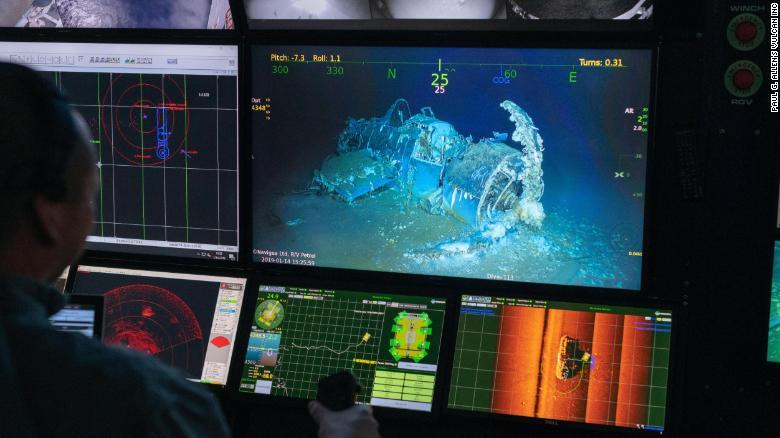 发现第二次世界大战航母的遗骸已有75年的历史