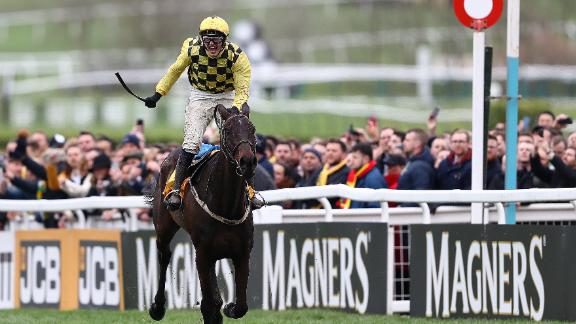 Al Boum Photo was the first Gold Cup winner and final piece in the puzzle for veteran Irish trainer Willie Mullins.