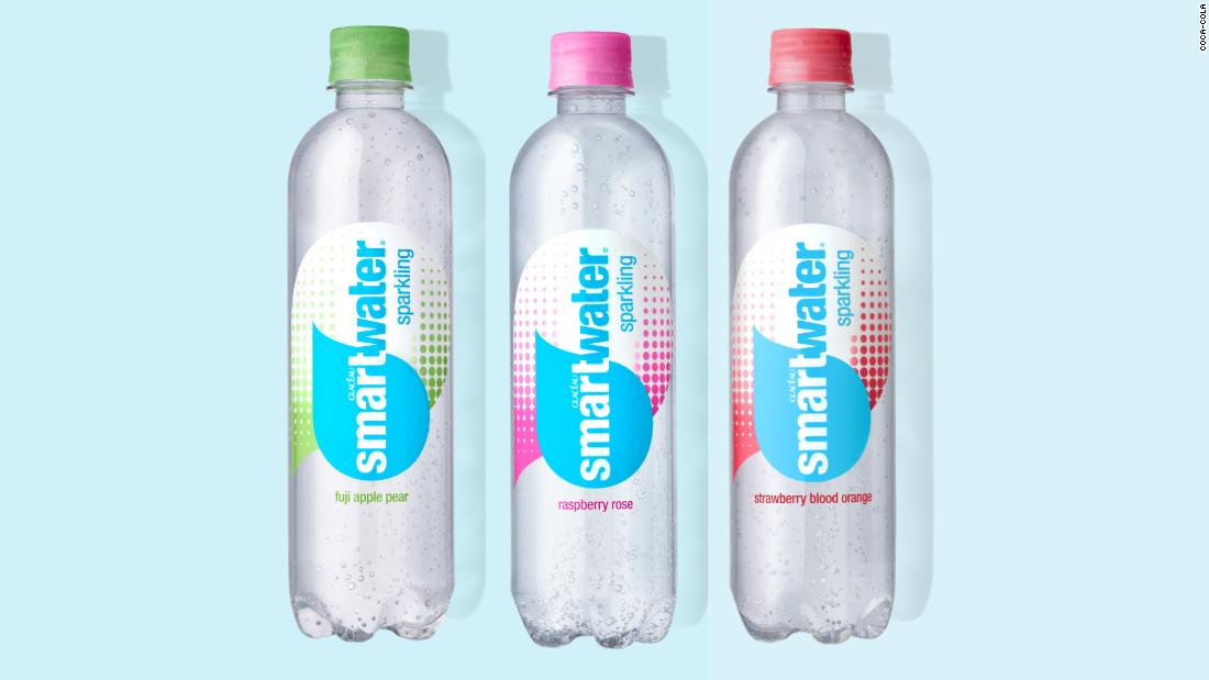 Coca-Cola latches onto America's flavored seltzer obsession with sparkling Smartwater