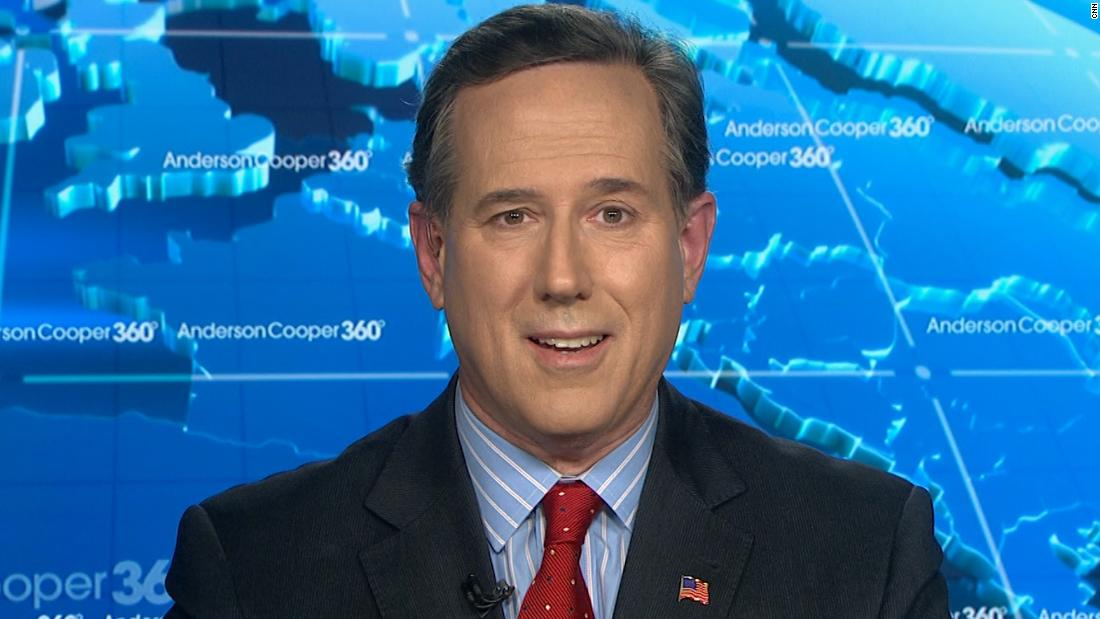 Santorum: I wish Trump would write emails to therapist