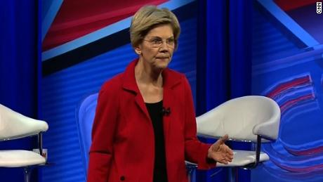 Warren to audience member: You may want to sit for this