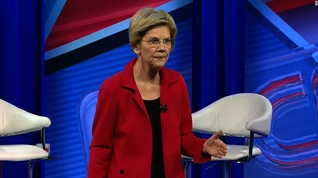 Elizabeth Warren supports removing Confederate emblem from Mississippi flag