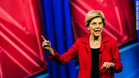 Five food stalls of CNN Town Hall by Elizabeth Warren