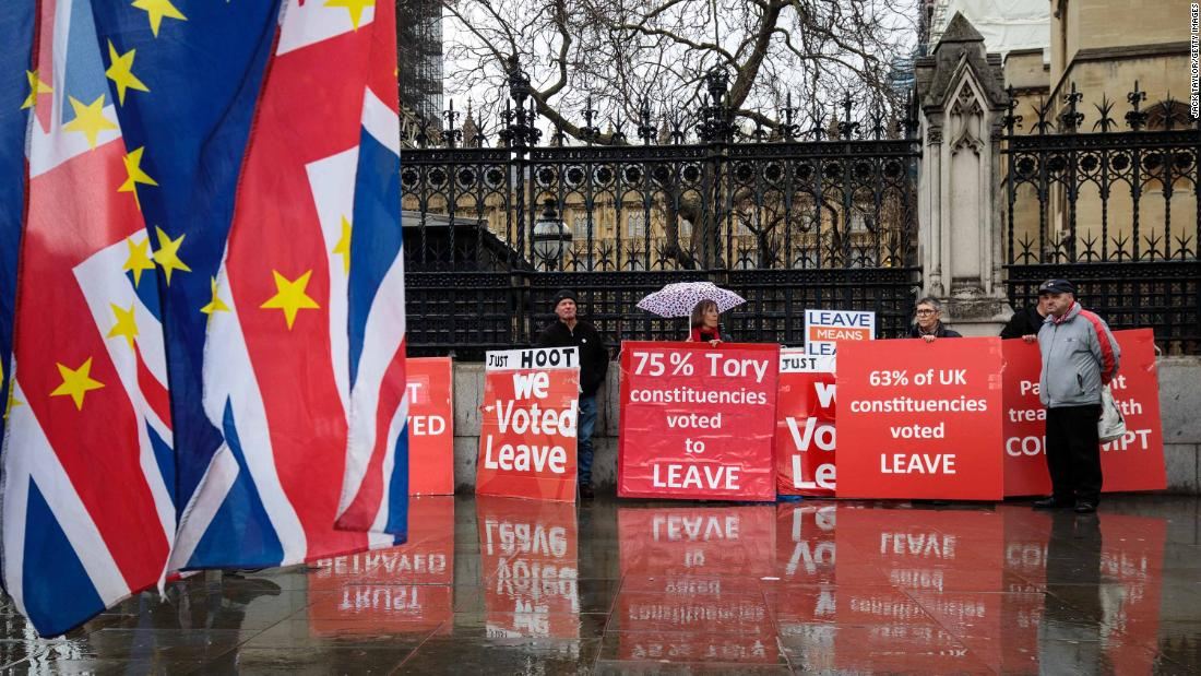 British Prime Minister asks EU for short delay to Brexit - CNN