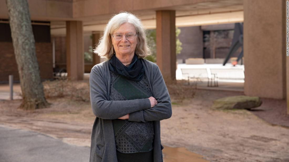 For the first time, mathematics' most prestigious prize has been awarded to a woman, Karen Uhlenbeck