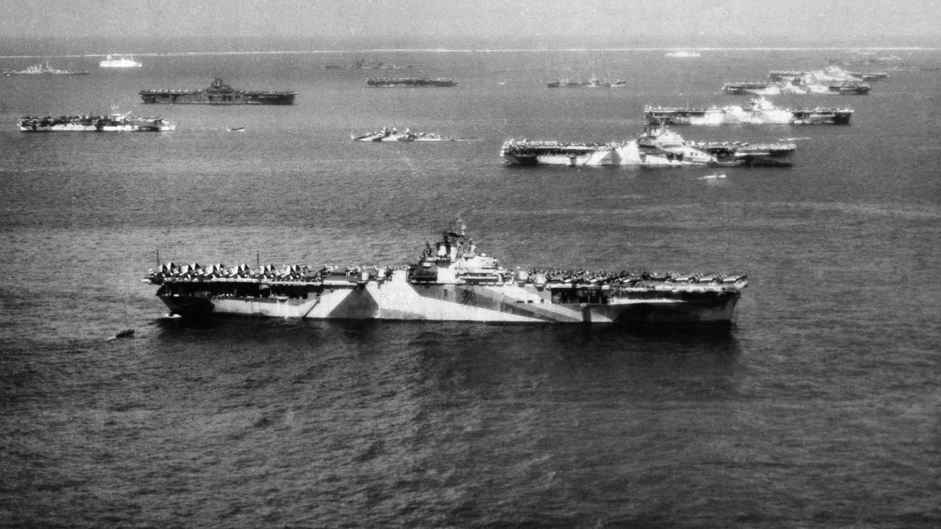 The remains of a World War II aircraft carrier, unseen for 75 years, have  been found - CNN