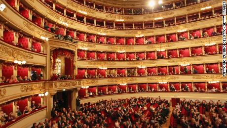 La Scala is one of the world's most renowned opera houses.