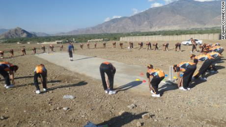 More than 100,000 young Afghans have been helped by Fane's charity, which has been supported by the UK Government.