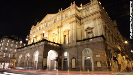 La Scala first opened in 1778.