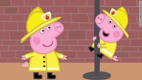 "The makers of ""Peppa Pig"" have been accused of sexism by the London Fire Brigade after an episode of the show referred to a firefighter as a fireman."