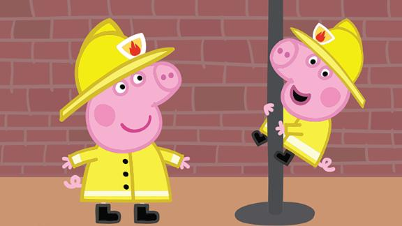 """The makers of """"Peppa Pig"""" have been accused of sexism by the London Fire Brigade after an episode of the show referred to a firefighter as a fireman."""