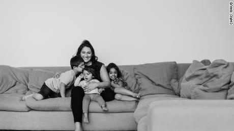 Nisha Jogia Soni and her three children: Kush, Keira and Shailee