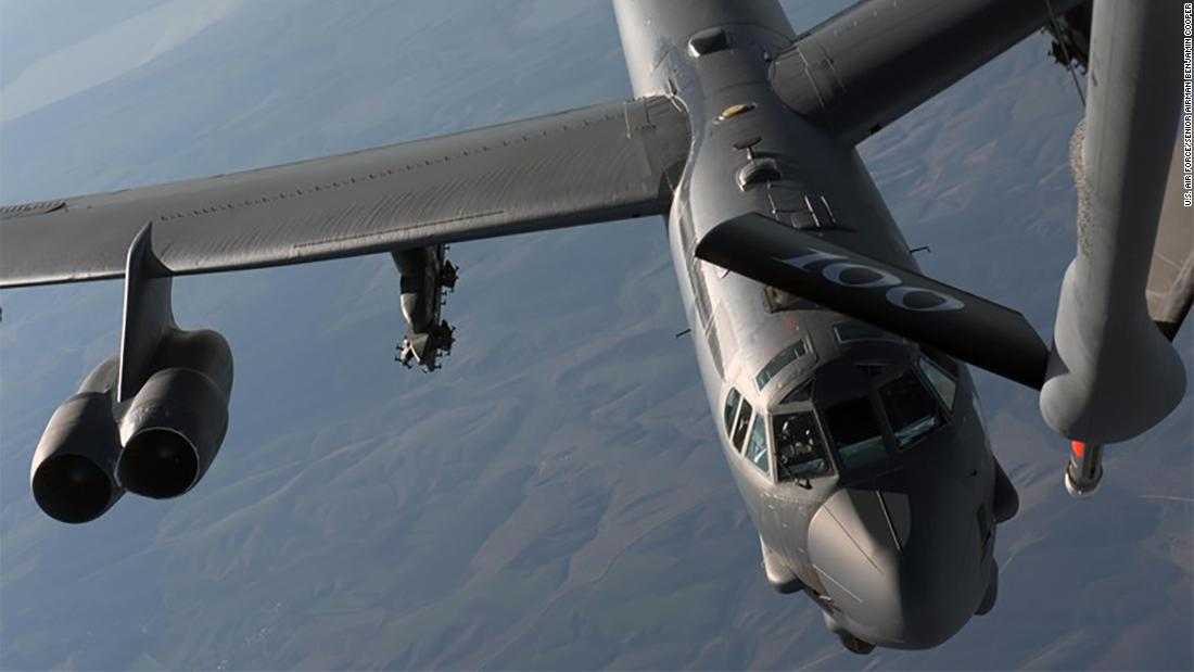 Russian jet violated NATO airspace while attempting to intercept US B-52 bomber