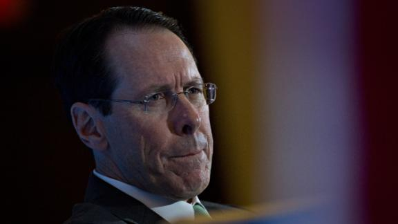 Randall Stephenson, chairman and chief executive officer of AT&T Inc., listens during an Economic Club of Washington event in Washington, D.C., U.S., on Wednesday, March 20, 2019. AT&T Inc. is hiking prices on its pay TV services for the second time since January, even after telling a judge during the U.S. antitrust trial last year that prices would go down if it was allowed to buy Time Warner Inc. Photographer: Andrew Harrer/Bloomberg via Getty Images