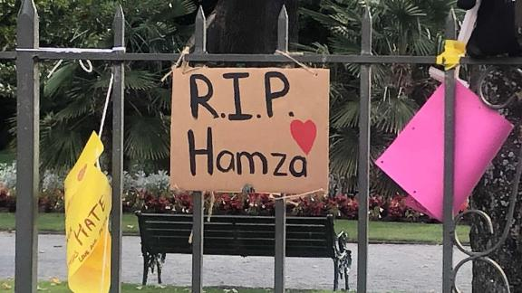 Flowers and signs have been laid at memorial sites around the city for victims who were killed in last Friday's attacks in Christchurch, New Zealand.
