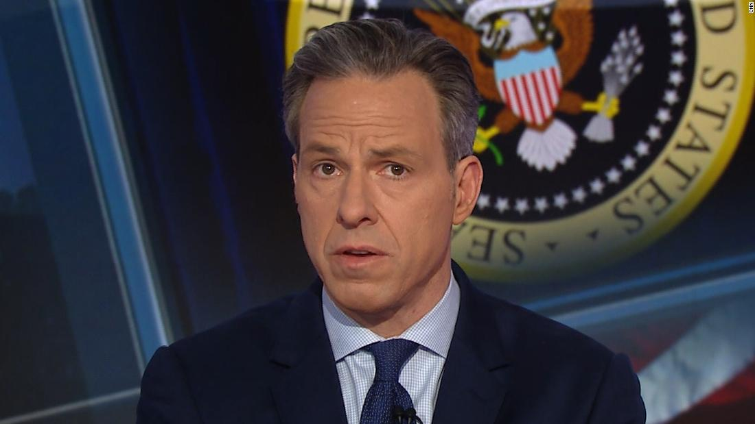 Jake Tapper: Trump just can't let it go