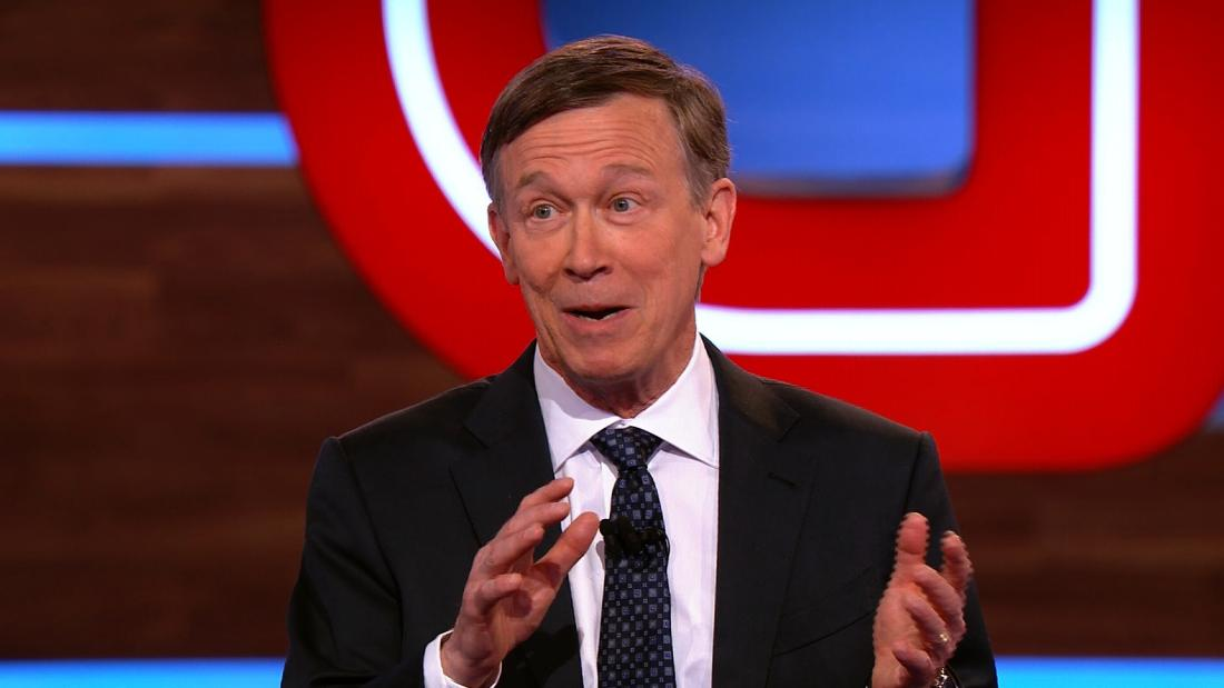 Hickenlooper explains his stance on legalizing marijuana