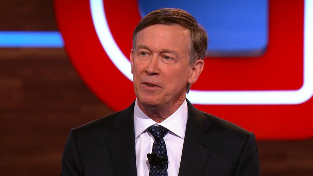 Hickenlooper: Trump 'should be ashamed of himself' over white nationalism comments