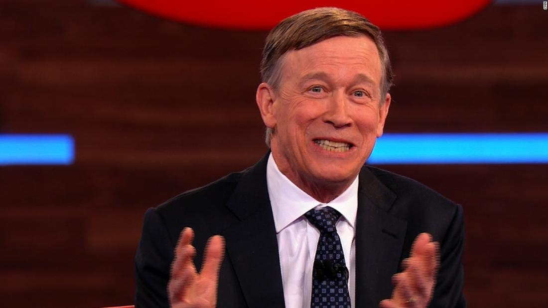 John Hickenlooper explains why he went to see an X-rated movie with his mother