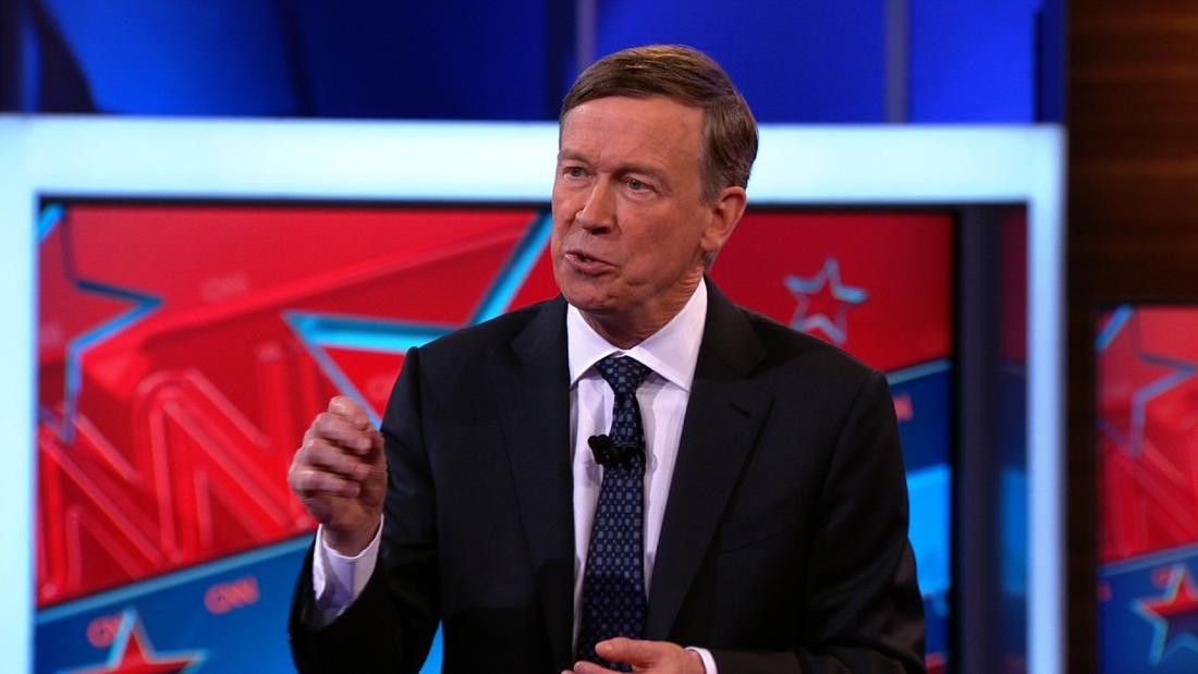 Hickenlooper: Why aren't we asking women this ...