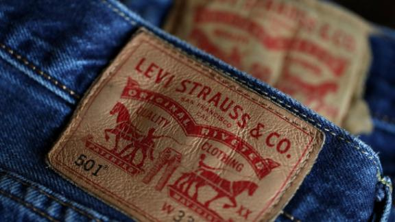 SAN FRANCISCO, CALIFORNIA - FEBRUARY 13: The Levi's logo is displayed on Levi's 501 jeans on February 13, 2019 in San Francisco, California. Levi Strauss announced that it has filed paperwork for an initial public offering with plans to list on the New York Stock Exchange using the stock ticker LEVI. (Photo Illustration by Justin Sullivan/Getty Images)