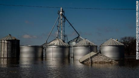 Midwest flooding has killed livestock, ruined harvests and has