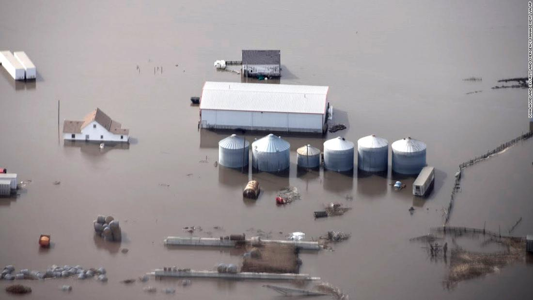 Midwest flooding has ruined harvests and has farmers worried for their future
