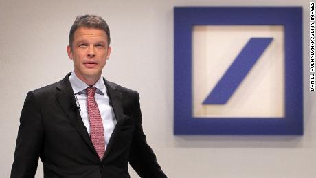 Christian Sewing, director of Deutsche Bank, has announced