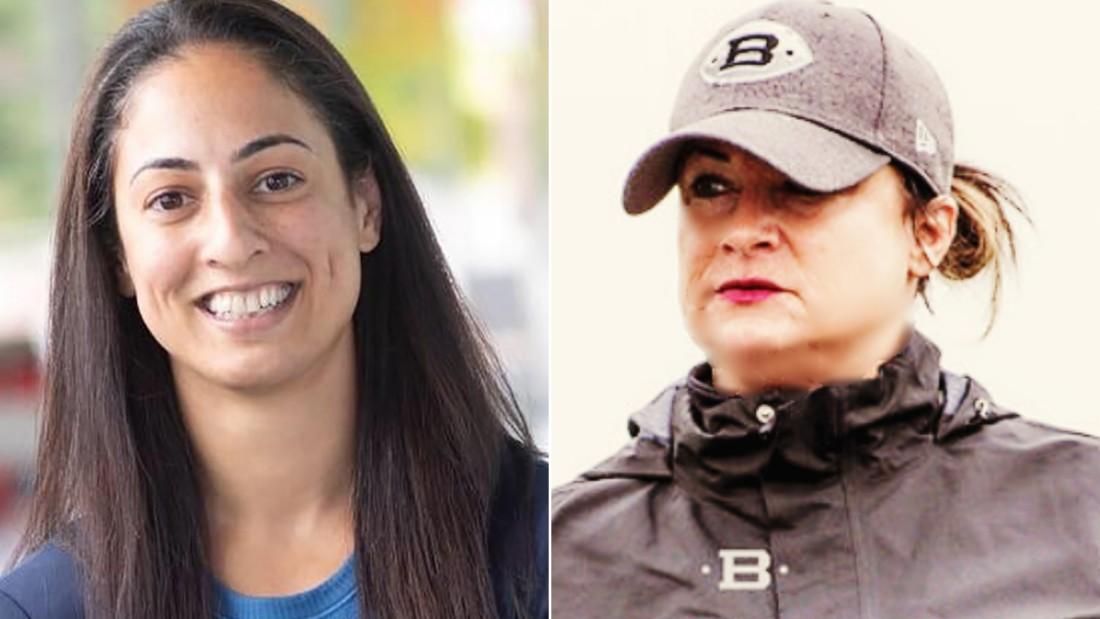 Maral Javadifar, left, and Lori Locust will join the Tampa Bay Buccaneers