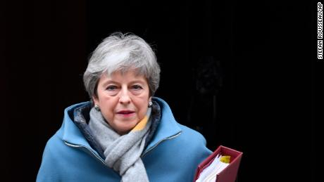 Prime Minister Theresa May asks the EU to delay Brexit.