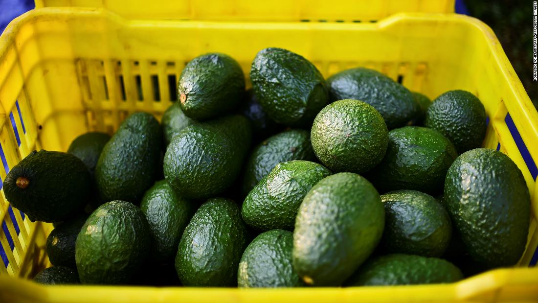 Avocados: It takes an average 2,000 liters of water to grow just one kg of avocados, four times the amount needed to produce the same amount of oranges or a kilogram of tomatoes, according to the WFN. <br />